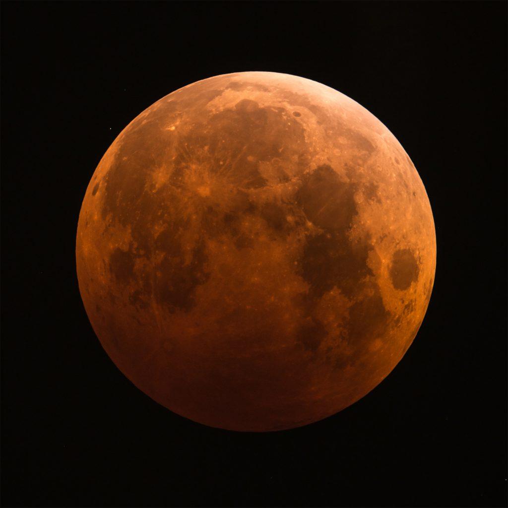 星空散歩~皆既月食を見よう~