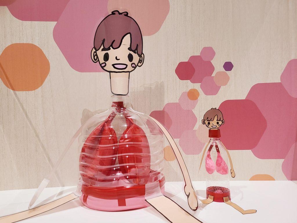 【みなと科学館オープン1周年記念】人の体のひみつ紹介~ぼくは肺太郎~