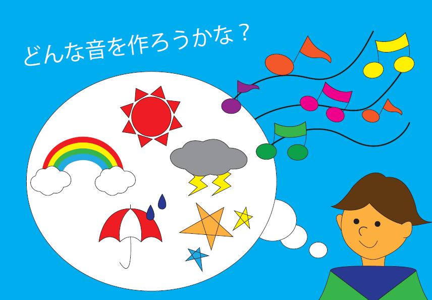 【雲の学校~音楽~】天気の音づくりにチャレンジ!【満席になりました】